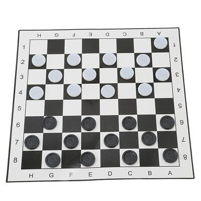 Traditional Family Childrens Checkerboard Paper Games Boardgame 2 Player ONE