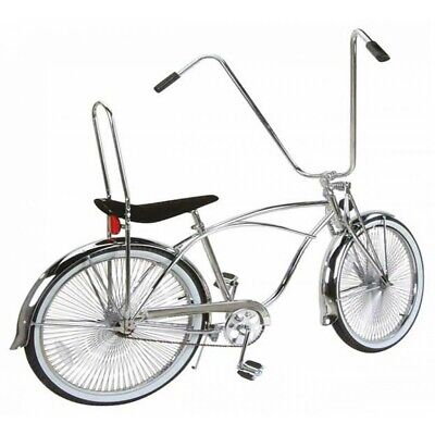 Twisted Extended Crown Chrome Lowrider Beach Cruiser Bicycle Crown Bike 155606