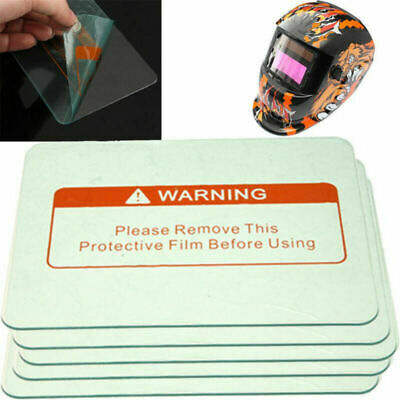 3/5Pcs Welding Helmet PC Clear Lens Cover Replacement Protective Plate 115*90mm