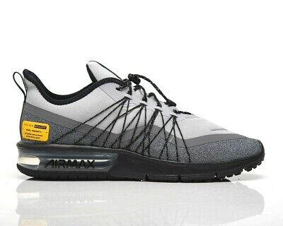 NIKE AIR MAX Sequent 4 Utility Men's 10 M Running Shoes Wolf