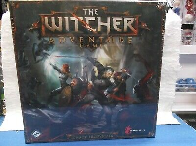 THE WITCHER ADVENTURE BOARD GAME IN English U. S. Version  OUT OF PRINT SEALED