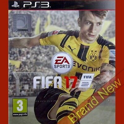 FIFA 17 PlayStation 3 PS3 ~3+ Football Game - BRAND NEW & SEALED UK stock