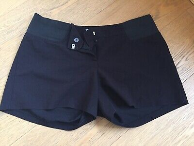 Maternity Shorts ASOS Size 12 Black Under Bump