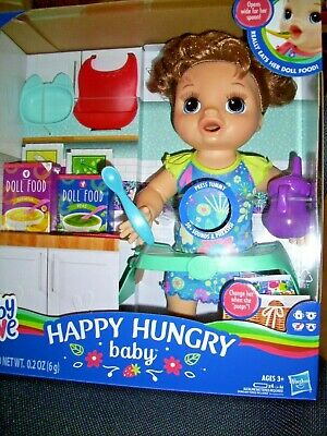 Baby Alive Happy Hungry Baby New In Box