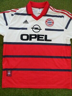 Bayern Munich 1998-2000 Away Football Shirt - Size XL Mens
