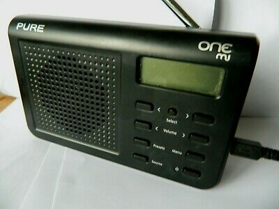 Pure One Mi Rechargeable  Dab Fm Radio With Mains Pure Adapter