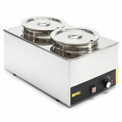 Buffalo Bain Marie With Round Pots Buffet Catering Food Warmers
