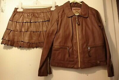 Mayoral Girls Skirt & Jacket Set 5yrs REALLY NICE OUTFIT good condition