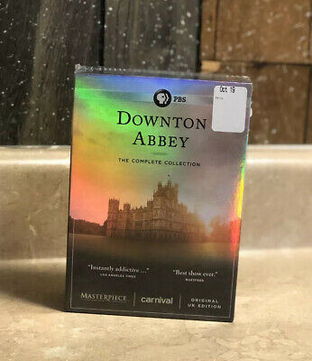 Downton Abbey  The Complete Collection   Seasons 1-6 (DVD Box Set)  BRAND NEW