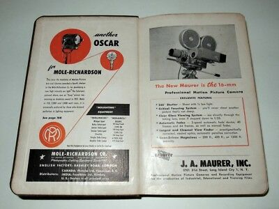 American Cinematographer Hand Book And Reference Guide - 1947- Very Rare