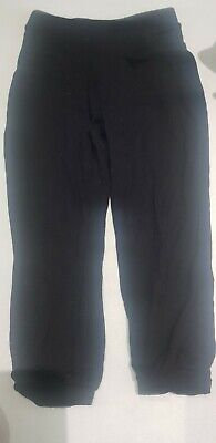 Girls thin Black Trousers/tracksuit Bottoms,4-5y,matalan,school?