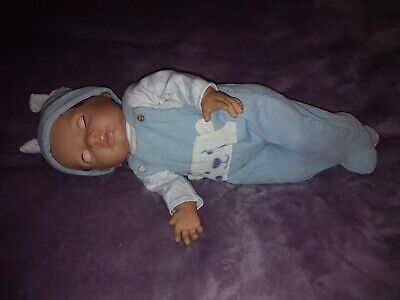 Realistic Baby Boy Doll - Tiny Treasures - Chad Valley