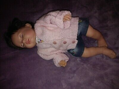 Beautiful Realistic Baby Girl Doll - Tiny Treasures - Chad Valley