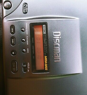 Sony Discman D-303 CD Player - Excellent Cond. - Audiophile