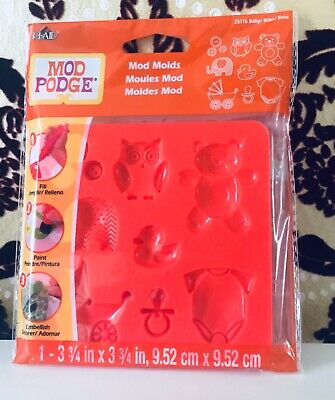 Mod Podge Molds - Baby - NEW