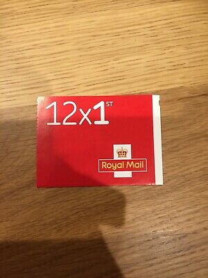 Book of 12 First Class Royal Mail stamps