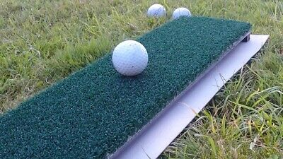 Golf mat Matte ShaftSaver divoting Abschlagmatte soft nylon turf portable