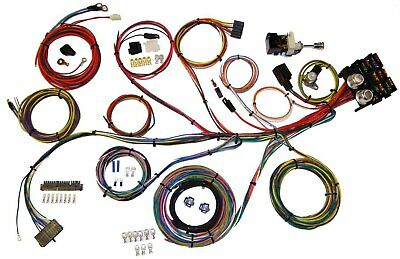 American Autowire 510004 Wiring System 13 Power Outlets GM Column Kit