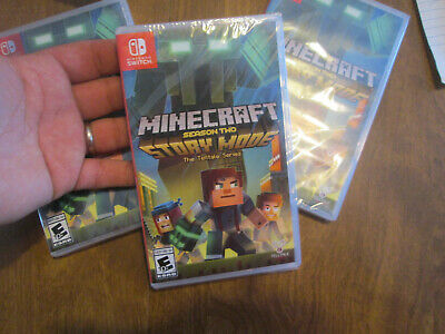 Minecraft Story Mode Season Two 2  Nintendo Switch Brand New Factory Sealed