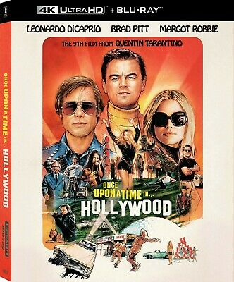 Once Upon A Time In Hollywood 4k Bluray + Standard Bluray *No Digital*