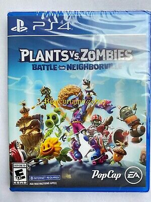 Plants vs Zombies Battle for Neighborville PS4 New Sealed Fast Ship w Tracking
