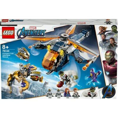 LEGO 76144 Marvel Super Heroes Avengers Hulk Helicopter Rescue Playset Kids NEW