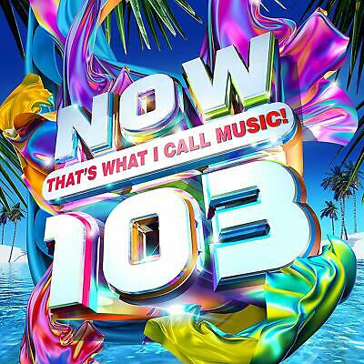 2019 UK POP DANCE CD: VARIOUS ARTISTS - NOW THAT'S WHAT I CALL MUSIC! 103 (2CDs)