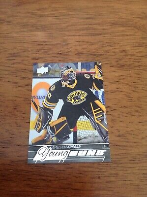 2015-16 Upper Deck Young Guns Malcolm Subban Rookie RC