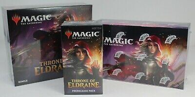 Throne of Eldraine Deal: 1 Bundle, 1 Booster Box, 1 Prerelease Kit All Sealed