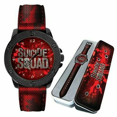 SUICIDE SQUAD Watch Eaglemoss DC Comics Watch  - Never Worn - Like New - In Tin