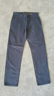 "BNWOT Mens Navy Blue Primark Denim Co Stretch Slim Leg Jeans Trousers W28"" L30"""