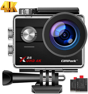 "Campark 2"" Ultra HD 4K Sport WiFi Cam Action Camera DV Video Recorder Waterproof"