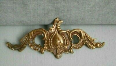 French Antique LOUIS XV BRONZE Plaque Ornament Finial