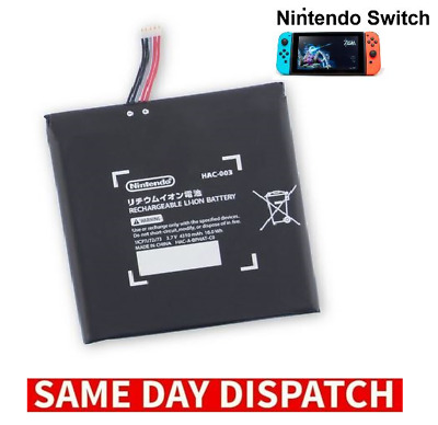 Official Genuine Battery For Nintendo Switch Console Hac-003 Replacement - New