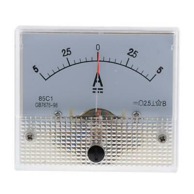 DC Analog Amp Meter Ammeter 85C1 2.5 Accuracy Durable High-quality 0-5A
