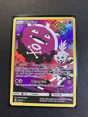 Pokemon Cosmic Eclipse Koffing 243/236 Reverse Full Art Secret Rare MINT