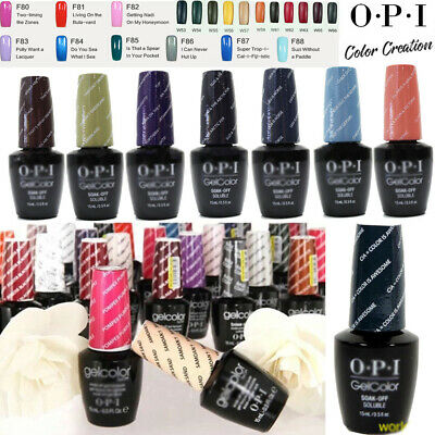 15ml [OPI GELCOLOR] UV&LED Soak Off Gel Nail Polish W/Fiji/I Series Collection