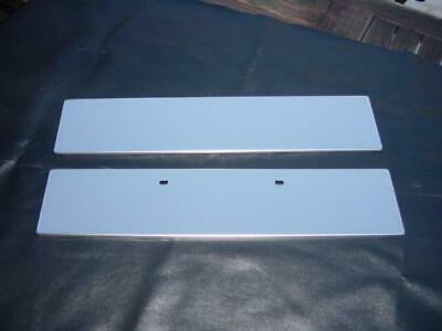 Mgb Mgc  Stainless License Plate Support Mounting Front & Rear