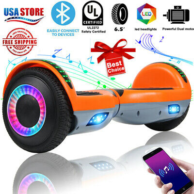"""6.5"""" Bluetooth Hoverboard Self Balance Electric Scooter UL No Bag Christmas gift"""