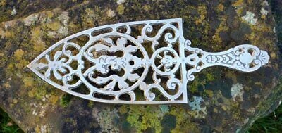 Vintage brass trivet ideal for flat iron or copper kettle