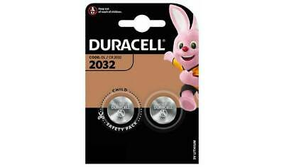 Duracell CR2032 3v LITHIUM Coin Cell Batteries (pack of 2) DL2032