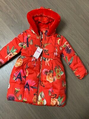 New Ted Baker Girls Padded Coat Size 5-6 Years