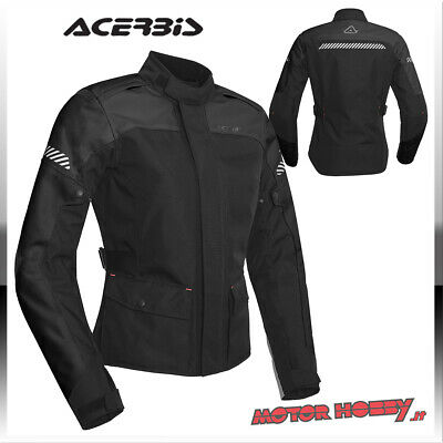Giacca Moto Touring Donna Acerbis Ce Discovery Forest Nero Taglia Xl