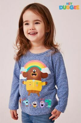 Next Girls Blue Hey Duggee Long Sleeve T-Shirt 4-5 Years