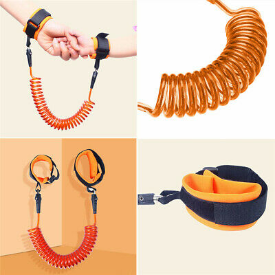 Child Kid Anti-lost Safety Leash Wrist Link Harness Strap Reins Rope Traction UK