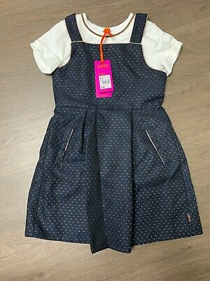 New Ted Baker Girls Dress Set Outfit Size 6-7 Years