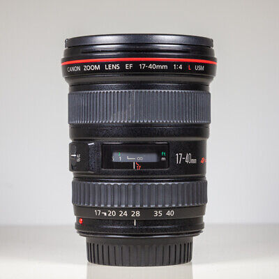 Canon 17-40mm f4L USM EF Wide Angle Zoom lens for Canon EF DSLRS