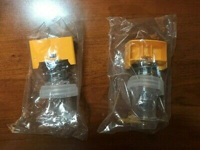 NEW GEHLS DISPENSER PUSH VALVE set of TWO CHEESE NOZZLE DN3675 DS618 B4 DS610 B1