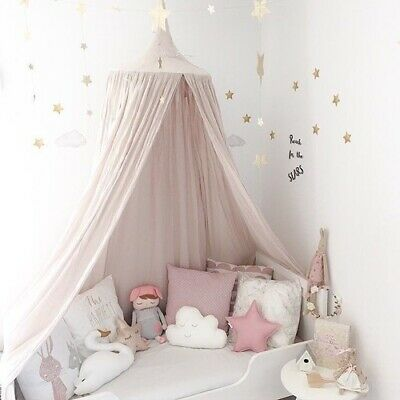 240cm baby room decoration bed Round Crib tent cotton Hung Dome Mosquito