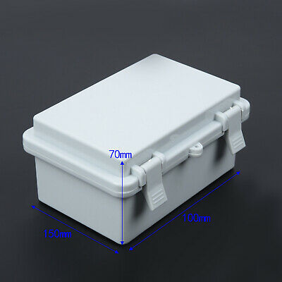 IP65 Anti-water Electronic Project Enclosure White Case Junction Box Cable